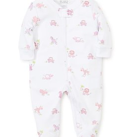kissy kissy Kissy Kissy Jungle Jibes Footie with Zipper *more colors*