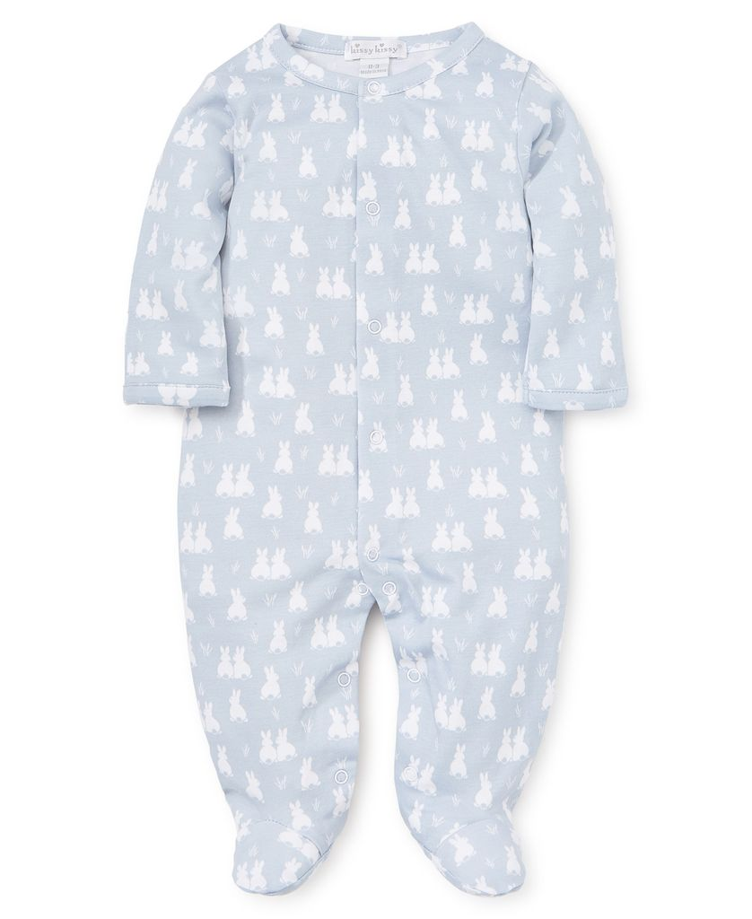 kissy kissy Kissy Kissy Cushy Cottontails Printed Footie *more colors*