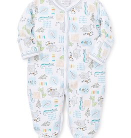 kissy kissy Kissy Kissy In the Jungle Printed Footie