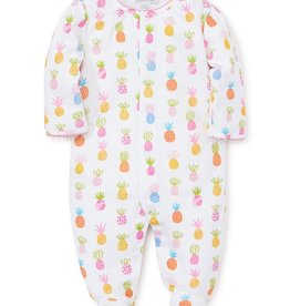 kissy kissy Kissy Kissy Pineapples Printed Footie