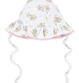 kissy kissy Kissy Kissy Petite Pansies Printed Floppy Hat