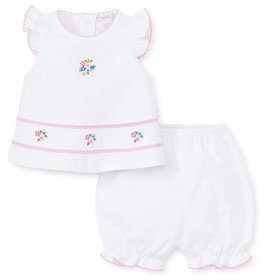 kissy kissy Kissy Kissy Petite Pansies Sunsuit Set