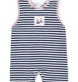 kissy kissy Kissy Kissy Summer Sails Terry Sleeveless Playsuit
