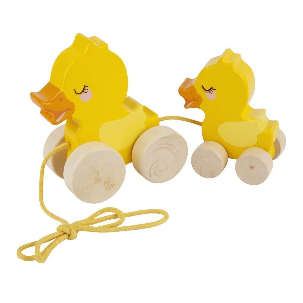 Sunny Life Sunny Life Push N Pull Duck Toy