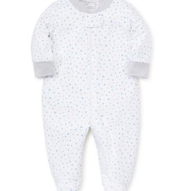 kissy kissy Kissy Kissy Stargazer Printed Footie with Zipper *more colors*