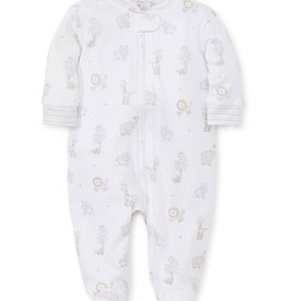 kissy kissy Kissy Kissy Jungle Party Printed Footie with Zipper