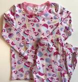 esme Esme Long Sleeve Cupcake Pajama Set