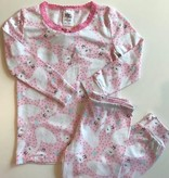 esme Esme Long Sleeve Swan Pajama Set