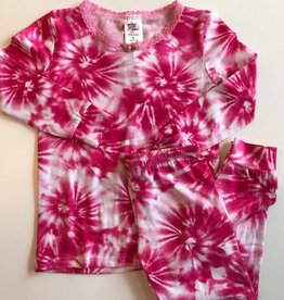 esme Esme Long Sleeve Starburst Pajama Set