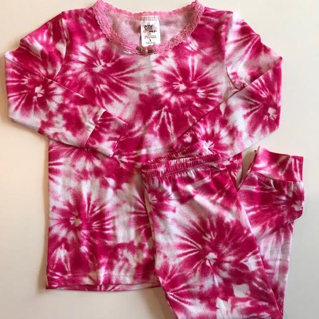 esme Esme Long Sleeve Starburst Pajama Set