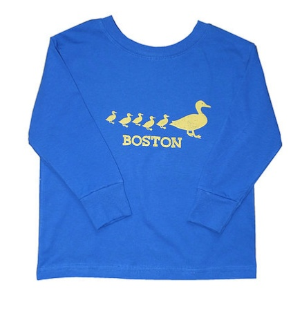 Sidetrack Sidetrack Long Sleeve Boston Duckling T-Shirt
