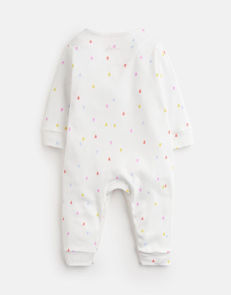 Joules Joules Gracie Rainbow Applique Babygrow