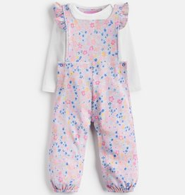 Joules Joules Eliza Ditsy Jumpsuit and Bodysuit Set