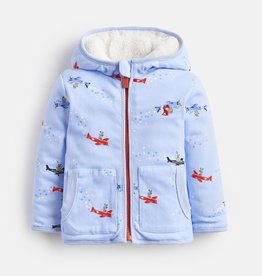 Joules Joules James Flying Bears Reversible Hooded Jacket