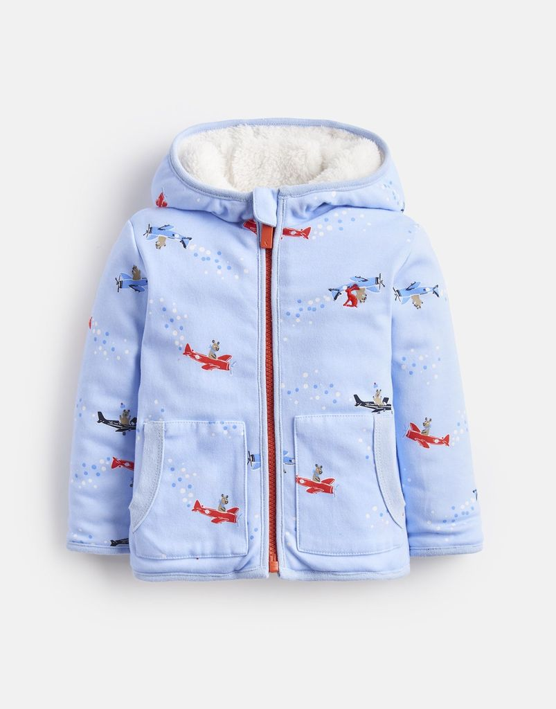 Joules Joules James Flying Bears Reversible Hooded Jacket