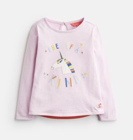 Joules Joules Ava Unicorn Applique Top