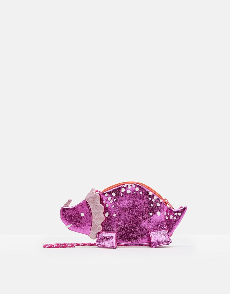 Joules Joules Sequin Dino Purse