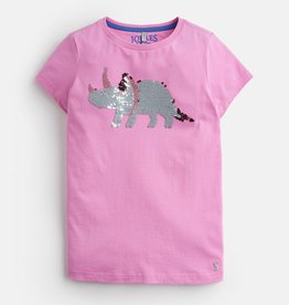 Joules Joules Astra Sequin Dino Top