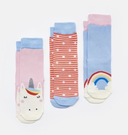 Joules Joules Brilliant Bamboo Unicorn Character Socks