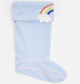 Joules Joules Smile Rainbow Character Rain Boot Socks