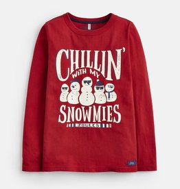 Joules Joules Raymond Snowman Tee