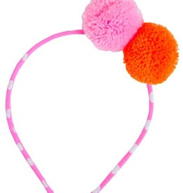 everbloom Everbloom Two Pom Pom Headband