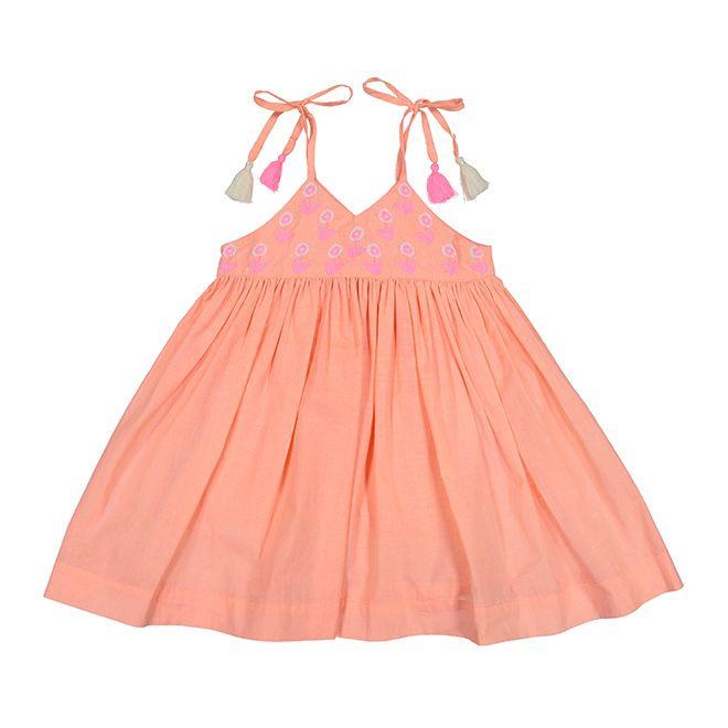 everbloom Everbloom Coral Sun Dress