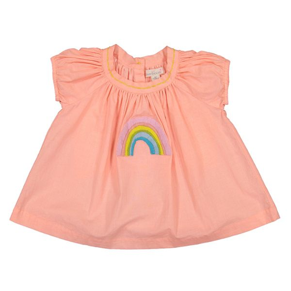 everbloom Everbloom Rainbow Baby Dress
