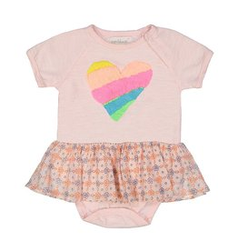 everbloom Everbloom Skirted Heart One Piece