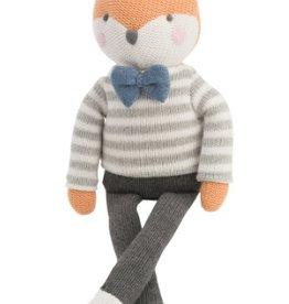"""Elegant Baby Knit Fox Toy 15"""""""