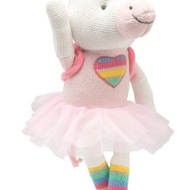 Elegant Baby Knit Unicorn Toy 15""