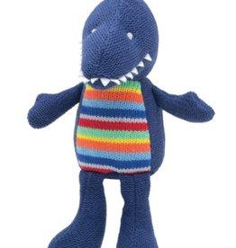 """Elegant Baby Knit Dino Toy 15"""""""