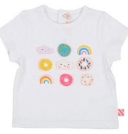Billieblush Billieblush Donut & Rainbow T-shirt and Legging Set