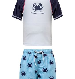 Snapper Rock Snapper Rock Blue Crab Swim Set UV50+