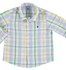 Mayoral Mayoral Long Sleeve Check Shirt