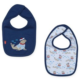 Magnificent Baby Magnificent Baby Petit Marin Reversible Bib