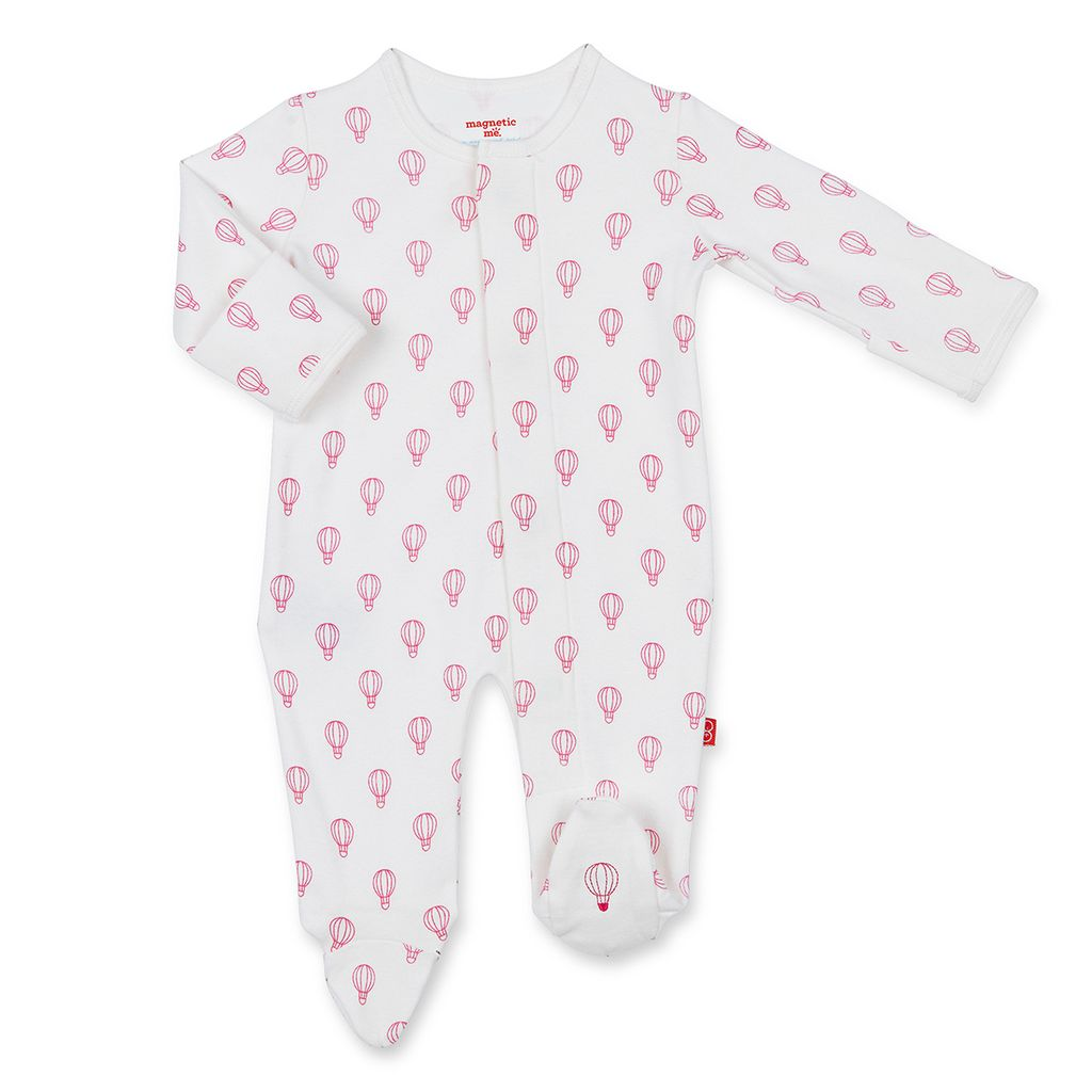 Magnificent Baby Magnificent Baby Open Sky Organic Cotton Footie *more colors*