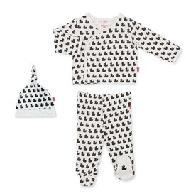 Magnificent Baby Magnificent Baby Quack n Roll Organic Cotton Kimono Set