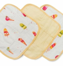 Loulou Lollipop Loulou Lollipop Ice Cream Washcloth Set