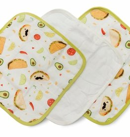 Loulou Lollipop Loulou Lollipop Taco Washcloth Set