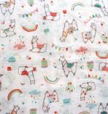 Loulou Lollipop Loulou Lollipop Llama Crib Sheet