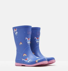 Joules Joules Roll Up Unicorn Rain Boots