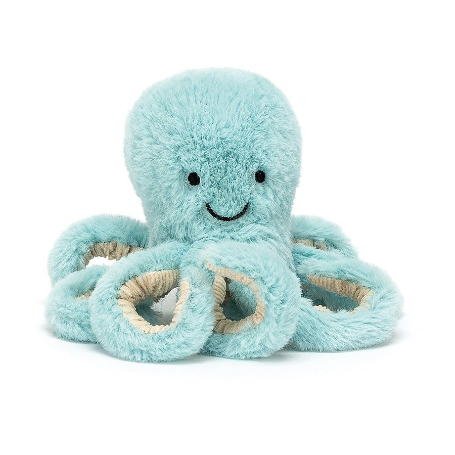 JellyCat Jelly Cat Bobbie Octopus Small
