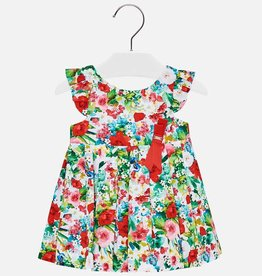 Mayoral Mayoral Voile Flower Dress