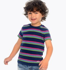 Mayoral Mayoral Short Sleeve Striped T-shirt