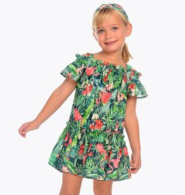 Mayoral Mayoral Floral Printed Dress