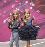 Lola & the Boys Lola & the Boys Black Vegan Leather Dress