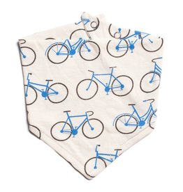 Winter Water Factory Winter Water Factory Kerchief Bib - Bicycles