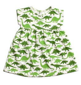 Winter Water Factory Winter Water Factory Merano Dress- Dinosaurs