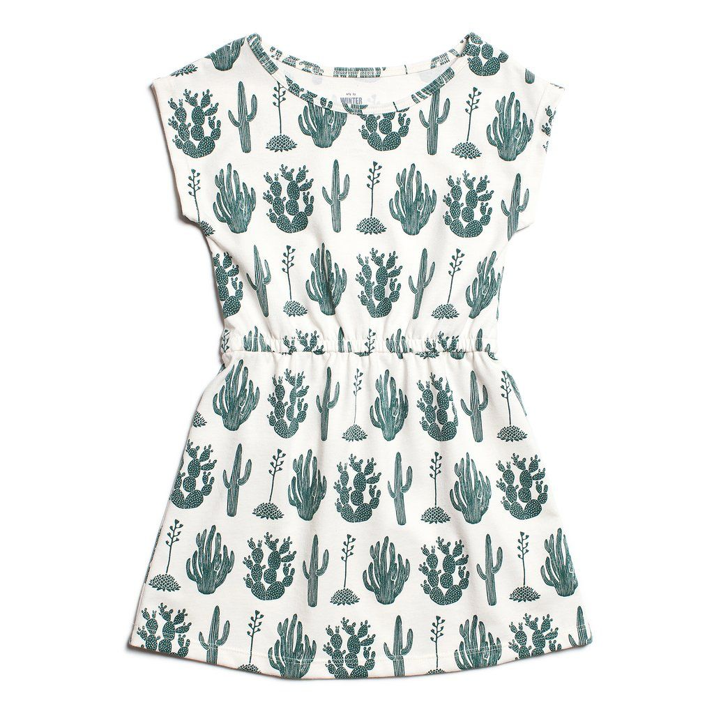 Winter Water Factory Winter Water Factory Sierra Dress- Cactus